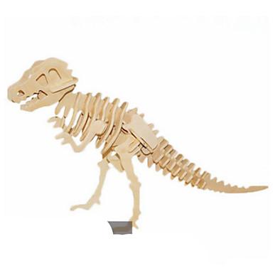 3D - Puzzle Metallpuzzle Holzmodell Spielzeuge Drache Naturholz keine Angaben Stücke