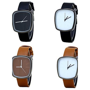 Bărbați Quartz Ceas de Mână Chineză / PU Bandă Lux Vintage Casual minimalist Elegant Modă Negru Maro