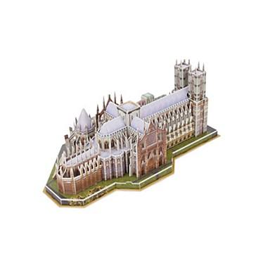 3D - Puzzle Holzpuzzle Modellbausätze Berühmte Gebäude Kirche EPS+EPU Unisex Geschenk