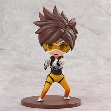 Anime Action Figures geinspireerd door Overwatch Cosplay PVC 10cm CM Modelspeelgoed Speelgoedpop Unisex