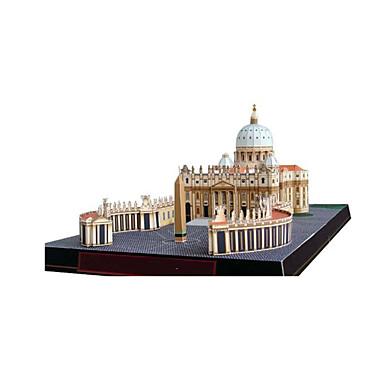 3D-puzzels Bouwplaat Speeltjes Beroemd gebouw Kerk (83 Architectuur DHZ Niet gespecificeerd Stuks