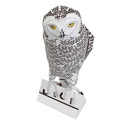 Puzzle 3D Modelul de hârtie Lucru Manual Din Hârtie Μοντέλα και κιτ δόμησης Pasăre Vultur Bufniţă Animale Simulare Reparații Hârtie