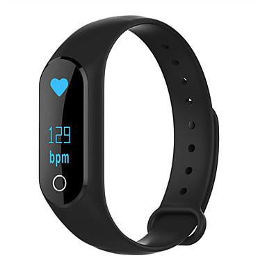 Smart-ArmbandWasserdicht Verbrannte Kalorien Schrittzähler Übungs Tabelle Sport Herzschlagmonitor Touchscreen Distanz Messung Anti-lost