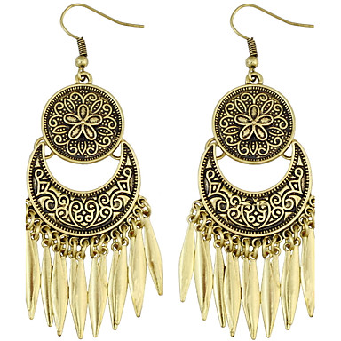 Dames Druppel oorbellen Hangende stijl Vriendschap Euramerican Turks Gothic Movie Jewelry Luxe Sieraden Opvallende sieraden Duurzaam
