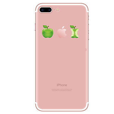 Für iPhone X iPhone 8 iPhone 8 Plus Hüllen Cover Transparent Muster Rückseitenabdeckung Hülle Cartoon Design Weich TPU für Apple iPhone X
