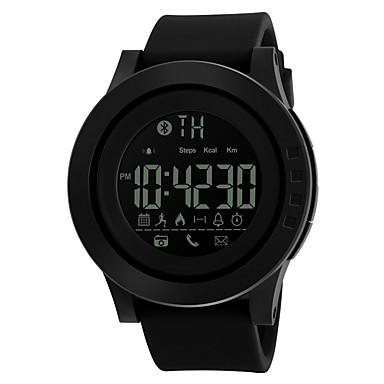 SKMEI للرجال ساعة رياضية ساعة ذكية ساعة رقمية رقمي PU فرقة أسود