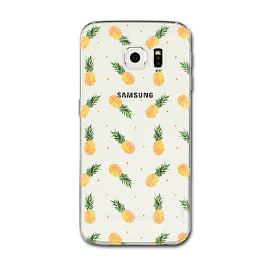 Maska Pentru Samsung Galaxy S8 Plus S8 Transparent Model Capac Spate Fruct Moale TPU pentru S8 Plus S8 S7 edge S7 S6 edge plus S6 edge S6