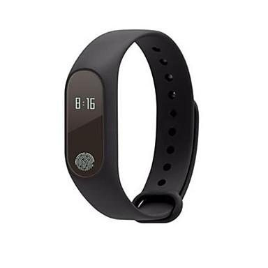 Heren Slim horloge Modieus horloge Digitaal Waterbestendig Rubber Band Zwart Blauw Orange Groen Geel roze