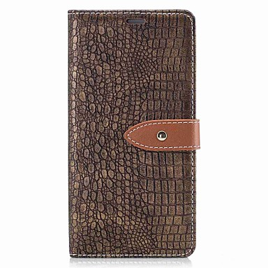 Case For Sony Wallet / Card Holder / Flip Full Body Cases Solid Colored Hard PU Leather for Sony Xperia XZ / Sony Xperia XA1 / Sony