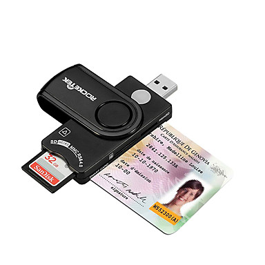 SIM Kaart SD/SDHC/SDXC MicroSD/MicroSDHC/MicroSDXC/TF USB 2.0 USB Kaartlezer