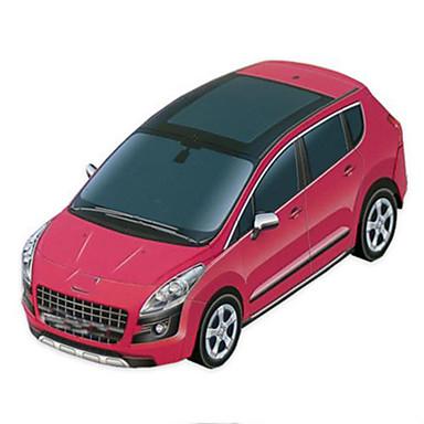 Jucării pentru mașini Puzzle 3D Modelul de hârtie Pătrat Reparații Hârtie Rigidă pentru Felicitări Clasic SUV Băieți Unisex Cadou