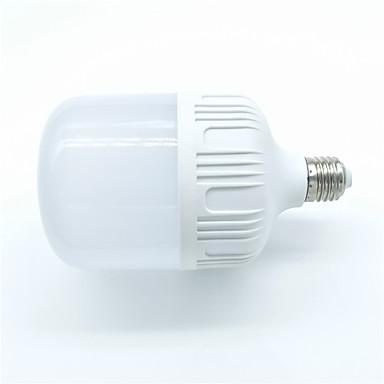 1pc 30W 2700lm E26 / E27 LED-bollampen 30 LED-kralen SMD 2835 Waterbestendig Decoratief Koel wit 220-240V