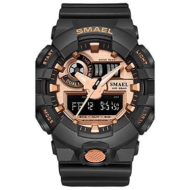 Heren Digitaal horloge Sporthorloge Modieus horloge Japans Kwarts Digitaal Chronograaf Waterbestendig Stopwatch s Nachts oplichtend