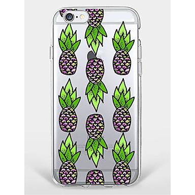 Hülle Für Apple iPhone 7 Plus iPhone 7 Muster Rückseite Frucht Weich TPU für iPhone 7 Plus iPhone 7 iPhone 6s Plus iPhone 6s iPhone 6