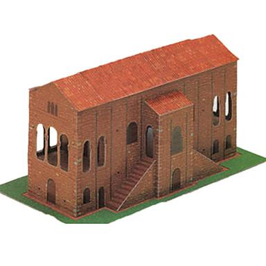 Puzzle 3D Lucru Manual Din Hârtie Clădire celebru Arhitectură Simulare Reparații Hârtie Rigidă pentru Felicitări Clasic Pentru copii