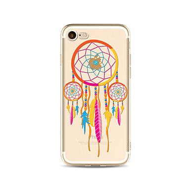 Hülle Für Apple iPhone X iPhone 8 Plus Transparent Muster Rückseitenabdeckung Traumfänger Weich TPU für iPhone X iPhone 8 Plus iPhone 8