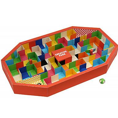 3D-puzzels Bouwplaat Doolhof Papierkunst Modelbouwsets Rechthoekig Inrichting artikelen DHZ Klassiek Unisex Geschenk