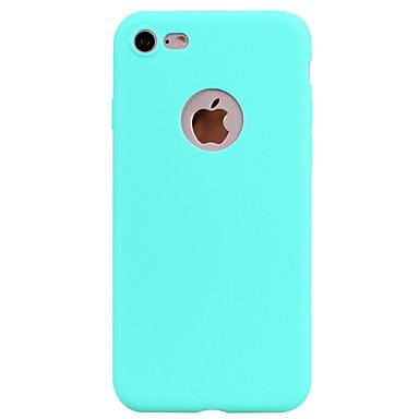 Für iPhone X iPhone 8 Hüllen Cover Mattiert Rückseitenabdeckung Hülle Volltonfarbe Weich TPU für Apple iPhone X iPhone 8 Plus iPhone 8