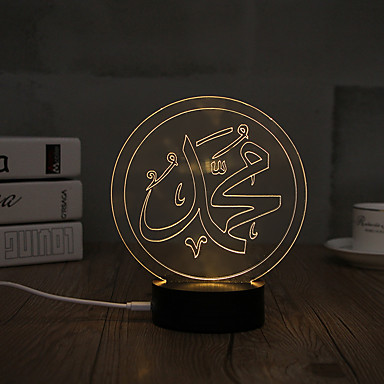 USB Lights Lampversiering LED Night Light-0.5W-USB Decoratief - Decoratief