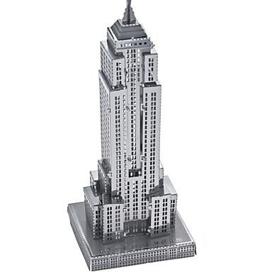 لعبة سيارات قطع تركيب3D تركيب تركيب معدني ألعاب مستطيل دبابة قصر بناء مشهور معمارية 3D ألمنيوم معدن غير محدد للأطفال قطع