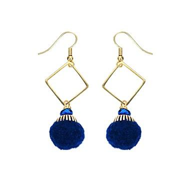 Pentru femei Boem Placat Auriu Cercei Picătură - Vintage Boem Albastru cercei Pentru Cadou Zilnic Casual Ieșire Concediu