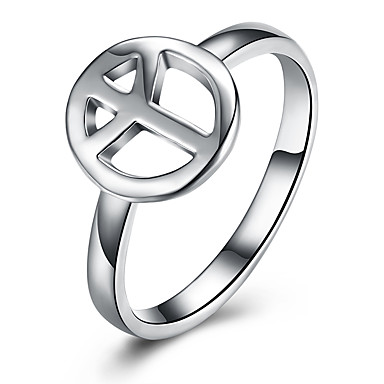 Pentru femei Verighete Lux Clasic Iubire Modă stil minimalist Plastic Σταυρός Circle Shape Bijuterii Nuntă Petrecere Logodnă Serată