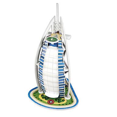 3D-puzzels Legpuzzel Bouwplaat Educatief speelgoed Architectuur 3D Dieren Hard Kaart Paper Kinderen Unisex Geschenk