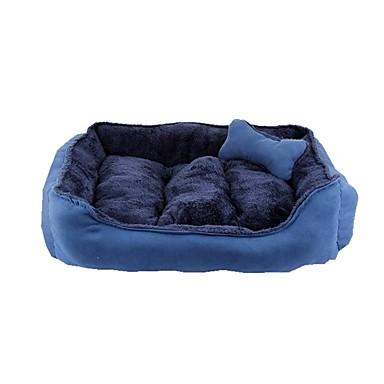 Hund Betten Haustiere Körbe Kaffee Rot Blau Khaki Zufällige Farben Für Haustiere