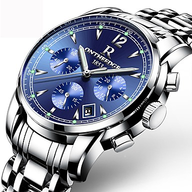 Bărbați Ceas Sport Ceas Elegant  Ceas La Modă Unic Creative ceas Ceas Casual Chineză Quartz Calendar Rezistent la Apă Oțel inoxidabil