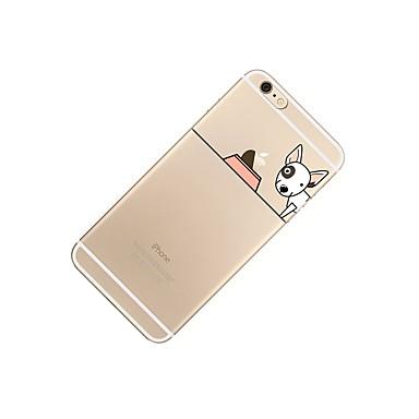 Cartoni iPhone Plus Custodia iPhone Con Fantasia animati TPU Plus Per iPhone 7 iPhone 7 Apple logo Transparente Apple 7 Morbido 06183812 6s per Con iPhone disegno cagnolino retro Per Plus 7 qqYBrT