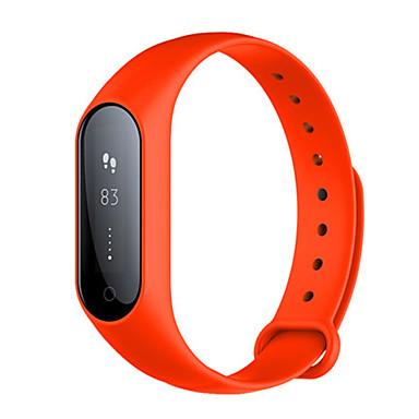 للمرأة ساعة رقمية رقمي مقاوم للماء عداد الخطى مطاط فرقة أسود أزرق البرتقال أخضر