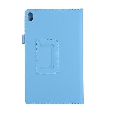 Pentru carcasa caz cu stand flip carcasă integrală culoare solidă piele mo soft pentru lenovo tab4 plus 8tb-8704f