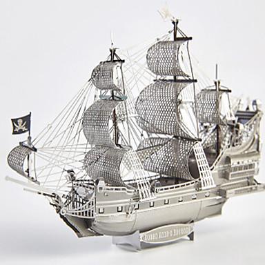 Holzpuzzle Metallpuzzle Spielzeuge Schiff 3D Heimwerken Aleación keine Angaben Stücke