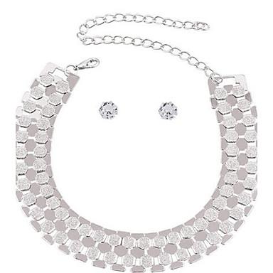 Pentru femei Lănțișoare Geometric Shape Bijuterii Aliaj La modă Ajustabile Personalizat Supradimensionat Bijuterii PentruPetrecere Alte