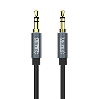 Unitek 3.5mm audio Jack Cablu, 3.5mm audio Jack to 3.5mm audio Jack Cablu Bărbați-Bărbați 2.0M (6.5Ft)