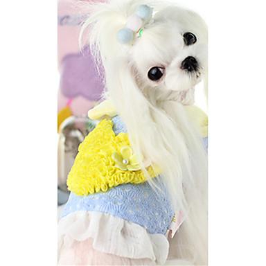 Hund Weste Hundekleidung Herz Purpur Blau Rosa Baumwolle Daune Kostüm Für Haustiere Lässig/Alltäglich