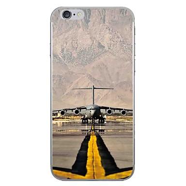 Caz pentru Apple iPhone 7 7 plus coperta caz de aeroport model hd pictat mai gros tpu material caz moale caz telefon pentru iphone 6s 6
