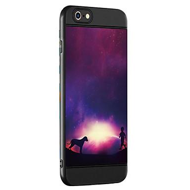 Case voor apple iphone 7 7 plus case cover hemel patroon verdikking tpu materiaal spray telefoon hoesje voor iphone 6 6s 6 plus 6s plus
