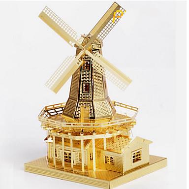 3D - Puzzle Holzpuzzle Spielzeuge Berühmte Gebäude Architektur 3D Edelstahl Metal Unisex Stücke