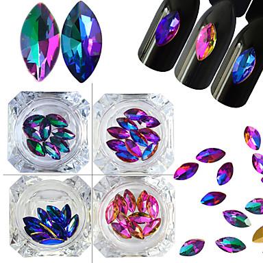 4 Nail Art decorare stras Perle machiaj cosmetice Nail Art Design