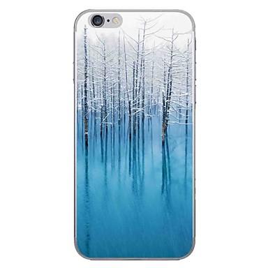 Caz pentru Apple iPhone 7 7 plus coperta caz de pădure hd pictat mai gros tpu material caz moale caz telefon pentru iphone 6s 6 plus