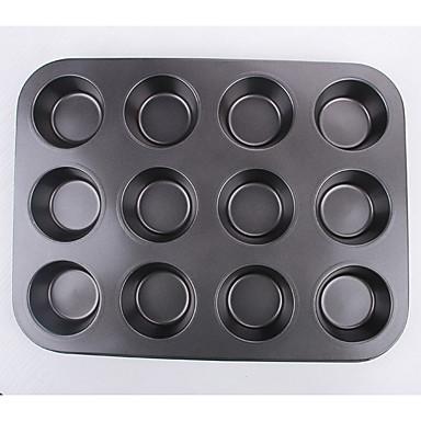 1 قطعة قوالب الكيك دائري لأواني الطبخ لكعكة حديد مطاوع أداة الخبز