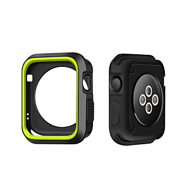 Voor Apple Watch Case 38 / 42mm Krasbestendig Flexible Case Slanke Lichtgewicht Beschermende Bumper Cover voor Apple Watch Series 1/2