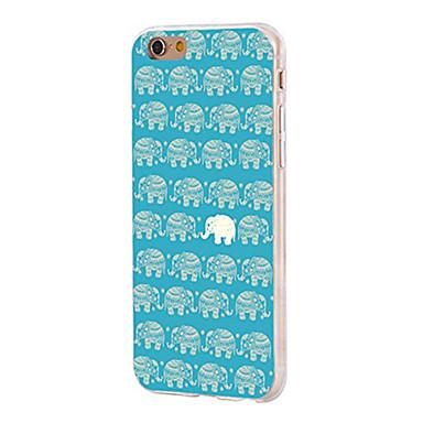 Pentru iPhone X iPhone 8 Carcase Huse Ultra subțire Model Carcasă Spate Maska Elefant Moale TPU pentru Apple iPhone X iPhone 8 Plus
