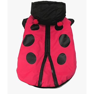 Hund Kostüme Hundekleidung Cosplay Polka Dots Rot