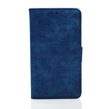 غطاء من أجل Samsung Galaxy A5(2017) A3(2017) محفظة حامل البطاقات مع حامل قلب كامل الجسم لون الصلبة قاسي جلد اصطناعي إلى A3 (2017) A5
