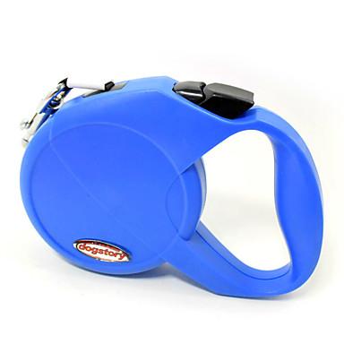 Hund Hands Free Leine Regolabile / Einziehbar Sicherheit Automatisch Traning Laufen Orange Purpur Rot Blau Rosa