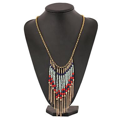 Pentru femei Lănțișoare Tanzanit Line Shape Picătură Placat Auriu La modă Vintage Confecționat Manual Elegant Bijuterii PentruPetrecere