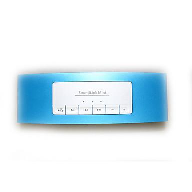 Exterior Portátil Suporte FM Estéreo Bluetooth 2.1 AUX 3.5mm USB Alto-Falante Bluetooth Sem Fio Azul