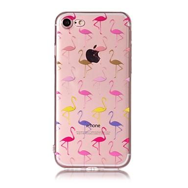 Maska Pentru Apple Model Carcasă Spate Flamingo Moale TPU pentru iPhone 7 Plus iPhone 7 iPhone 6s Plus iPhone 6 Plus iPhone 6s iphone 6